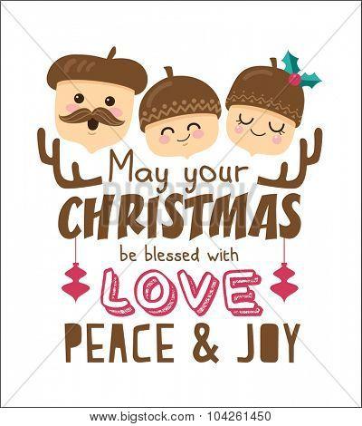 Christmas poster/ card