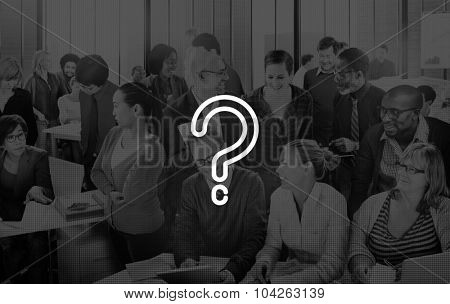 Question Mark Solution Ask Solving Problem Concept
