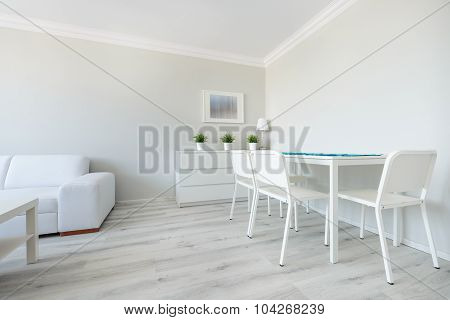 Eating Space In Modern Apartment