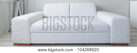White Sofa Perfect For Relax