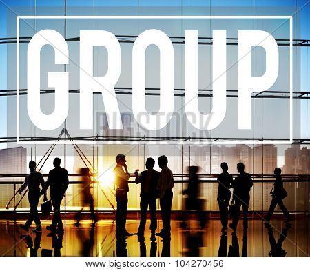 Group Union Team Organization Partnership Concept