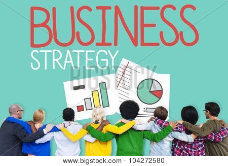 Business Strategy Planning Teamwork Concept