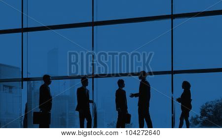 Business People Colleagues Communication Discussion Concept