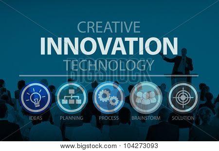 Creative Innovation Development Strategy Improvement Concept