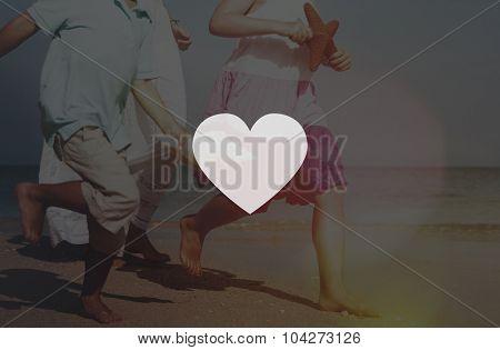 Heart Healthcare Love Symbol Passion Life Concept