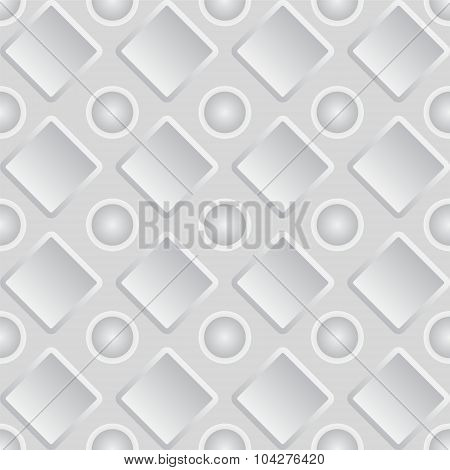 Seamless Geometric Shape Background. Vector