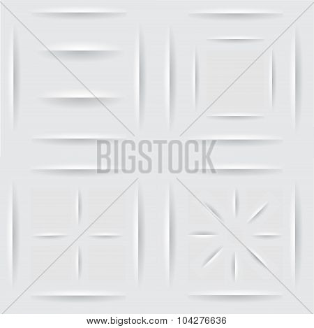 Paper Shadow, Background. Eps10-vector Stock