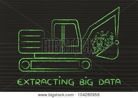Extracting Big Data: Funny Digger Collecting Binary Code