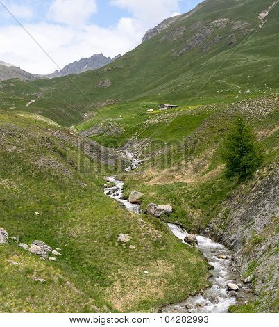 Mountain Landscape In Piedmont