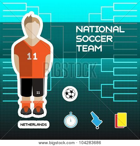 Netherlands Soccer Team