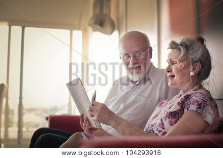 Husband and wife enjoying some time together