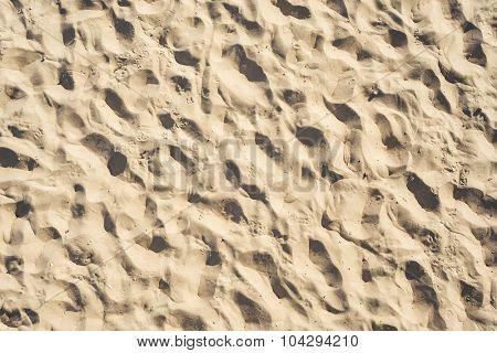 sand on beach as background