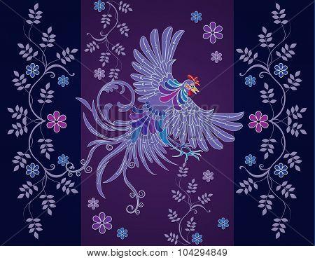 Vector abstract textile designs