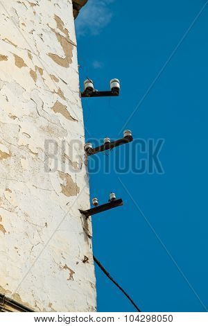 Unsafe Electricity Wires