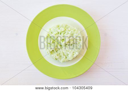 Salad Of Green Radish