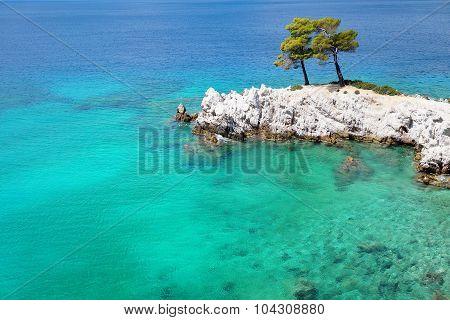 Cape Amarantos of Skopelos Island
