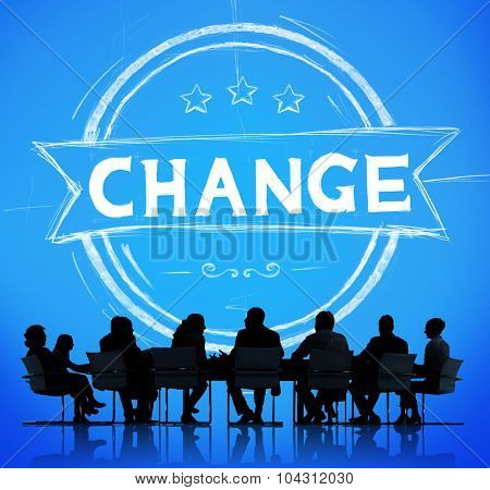 Change Development Improvement Revolution New Concept