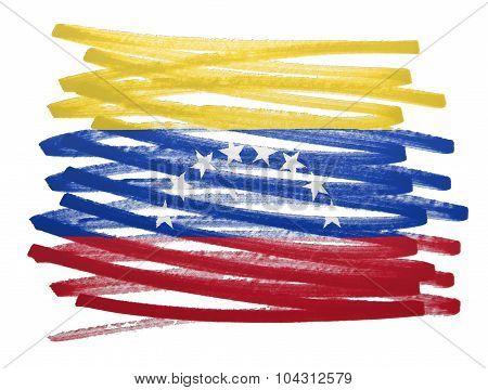 Flag Illustration - Venezuela