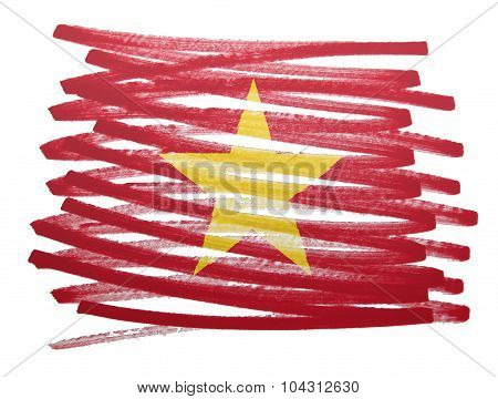 Flag Illustration - Vietnam