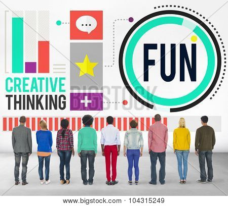 Fun Happiness Enjoyment Recreation Activity Concept