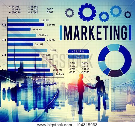 Marketing Advertising Business Digital Commercial Concept
