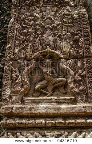 Cambodian Temple Scenes 14
