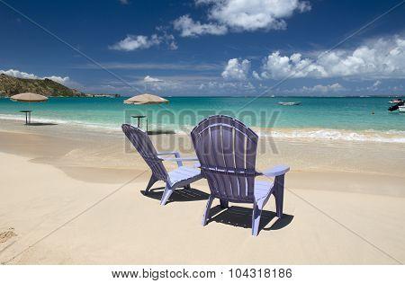 Saint Martin, Caribbean Sea