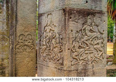 Cambodian Temple Scenes 22