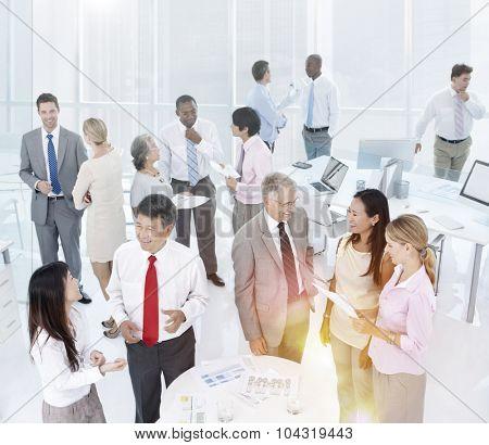 Teamwork Team Collaboration Colleagues Corporate Concept