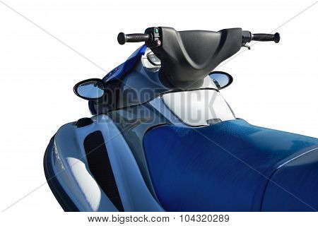 Scooter Isolated On White Background