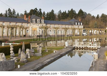 Canal Of Briare, Loiret, Centre-val De Loire, France