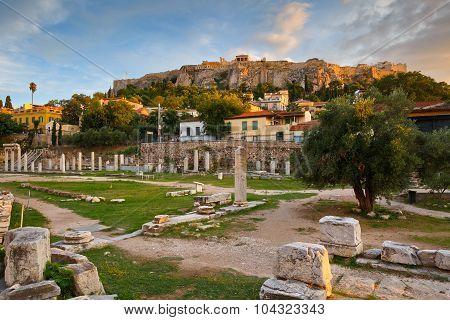 Roman Agora and Acropolis.