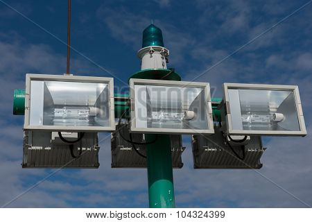 Lighting System For The Harbour
