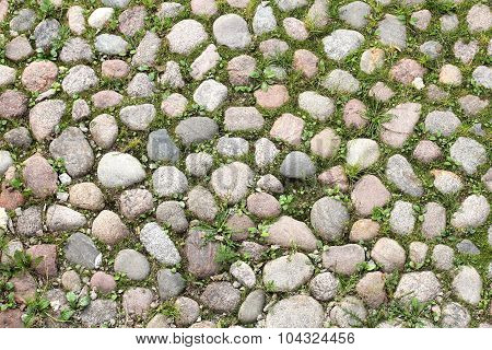 Ancient Cobblestone Pavement