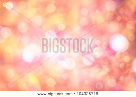 Color Abstract Circular Backgrounds. Twinkling Lights Blurred Bokeh.