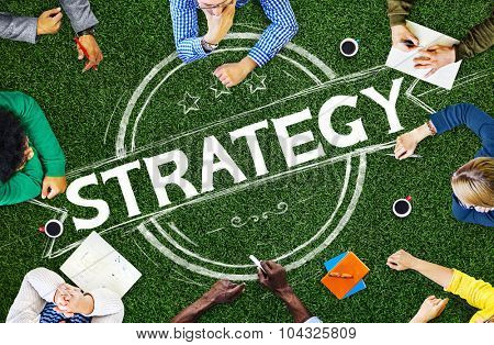 Strategy Thinking Think Planning Plan Concept