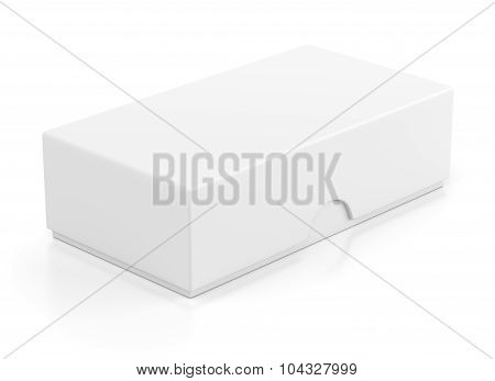 Closed Box Package For Mobile Phone On White