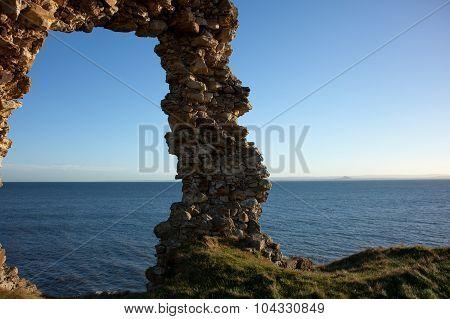 Stone Arch In St Monans, Scotland