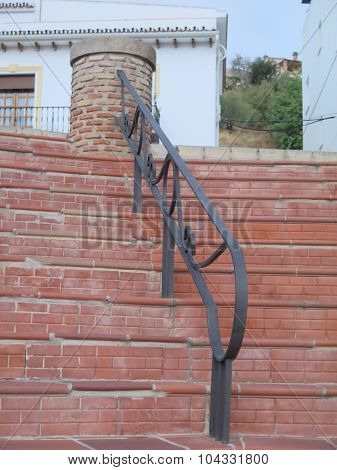 Steps And Hand Rail