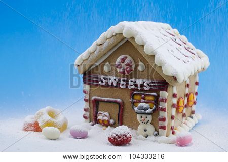 Gingerbread house and other sweets