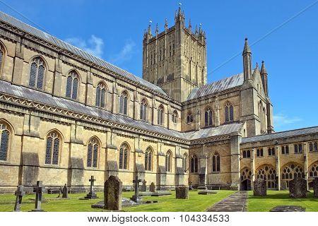 Wells Abbey, Somerset, England