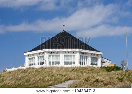 Beach Cafe In Norderney, Editorial