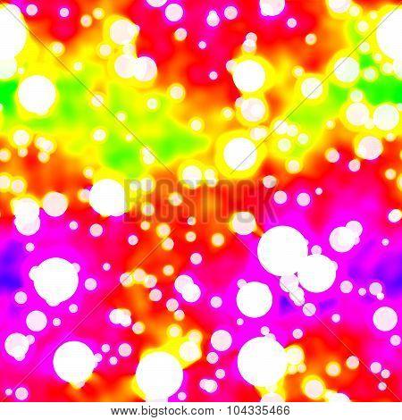 Infra Neon Bokeh Seamless Pattern Texture - Spectrum Background