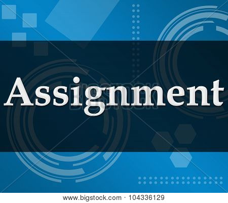 Assignment Technical Background