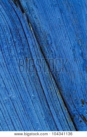 Old Blue Wooden Board Background Texture