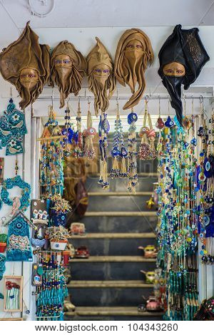 Arts And Crafts In Street Of Bodrum