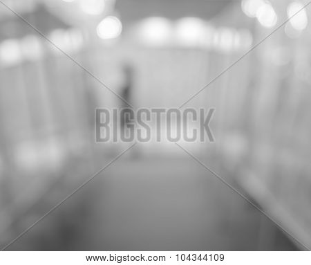 Abstract Blurred Art Gallery