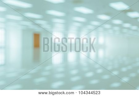 Abstract Image Background Of Blur White Room