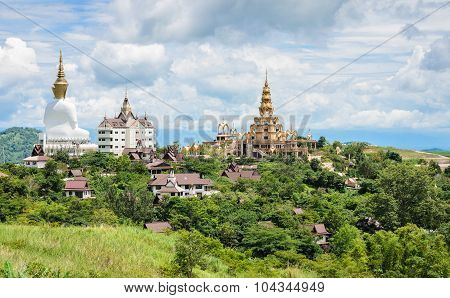 Beautiful View Of Wat Pha Sorn Kaew In Petchabun, Thailand