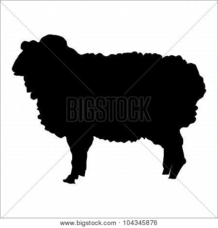 Ram silhouette